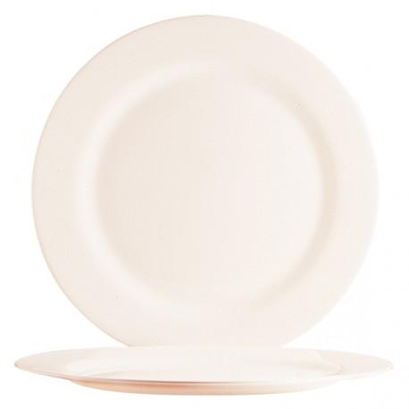 A323 Assiettes plates Ivoire Ø270mm
