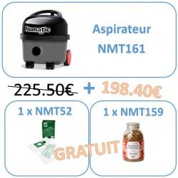 NMT161PACK Pack promo temporaire 1 aspirateur NMT161 + sacs gratuits + granules gratuits