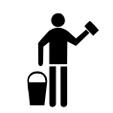 Nettoyage manuel avec une éponge