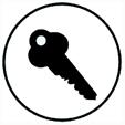 Système de fermeture avec clef