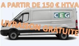Livraison gratuite à partir de 150€ HTVA